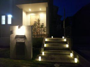 『おうちで燈花会』in モデルハウス