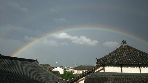 綺麗な虹でした