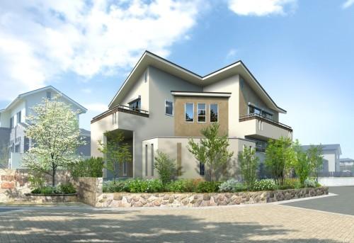 モデルハウス「ロジアのある家」