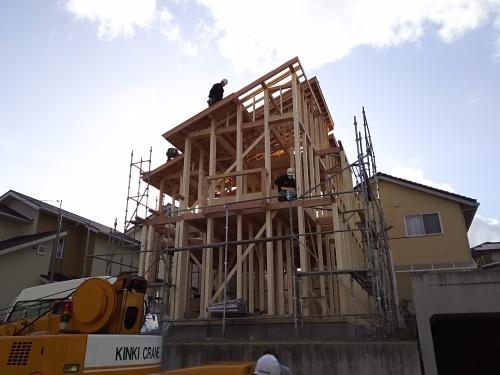 四季彩の街 新規建売分譲住宅 5号地上棟!