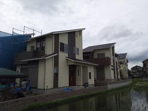 サンカルム南京終の建物が間もなく完成致します!
