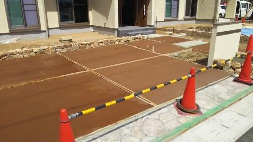 サングレイス西大寺の工事の進捗状況